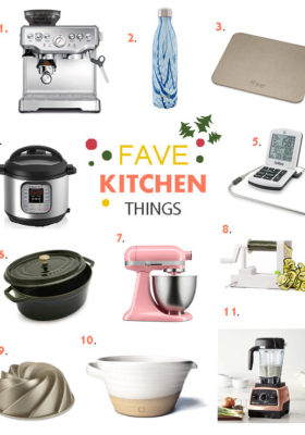2016 Favorite Kitchen Things Gift Guide