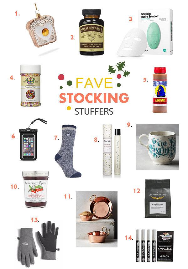 2016 Favorite Things Stocking Stuffers