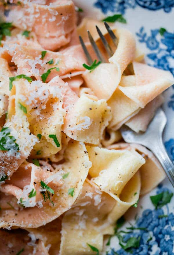Homemade Pappardelle Pasta