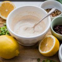 Easy Lemon Tahini Sauce