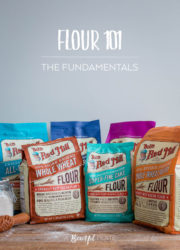 Flour 101: Different Types of Flours for Baking and the Fundamental Differences Between Them. An incredibly helpful baking reference post!