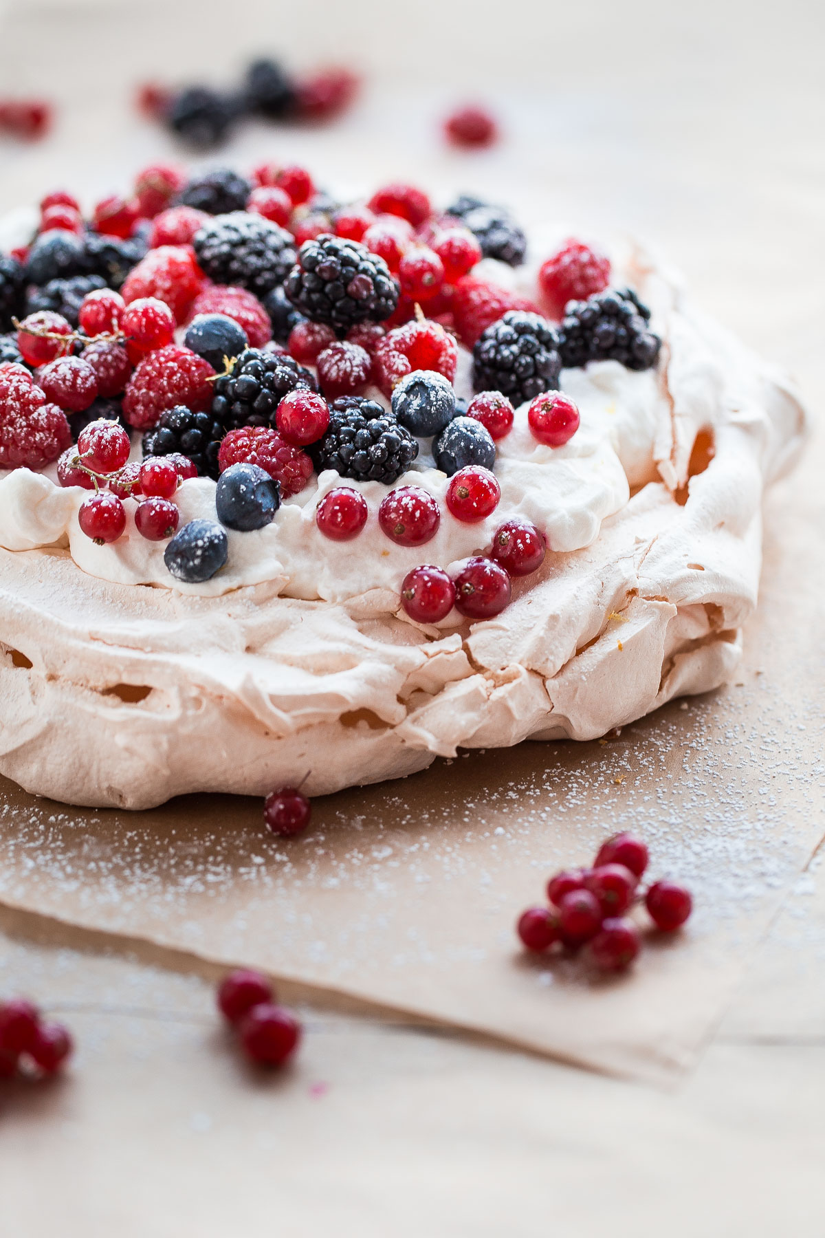 Cake To Serve With Fresh Berries
