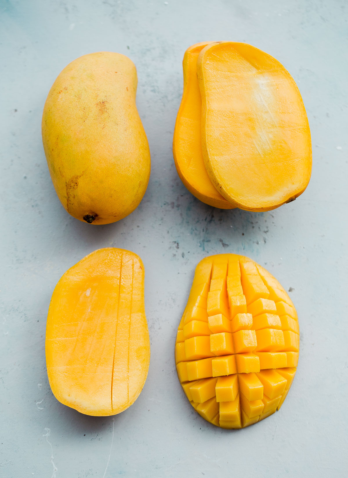 How to Prep and Cut a Mango