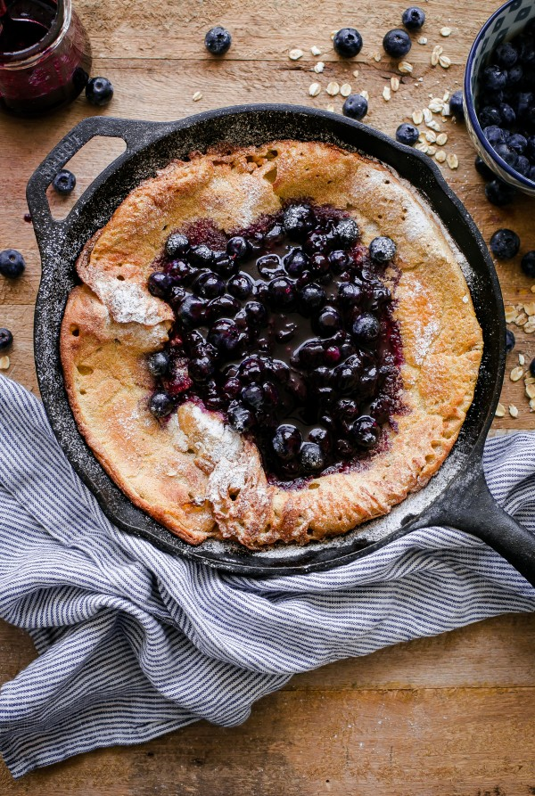 Gluten Free Dutch Baby - 10 Mother's Day Recipe Ideas. Sweets and dessert recipes to spoil your mama!