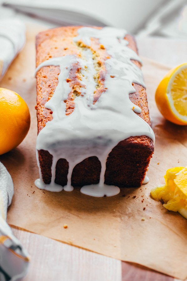 Whole Grain Lemon Poppy Seed Loaf - Mother's Day Recipe Ideas. Sweets and dessert recipes to spoil your mama!