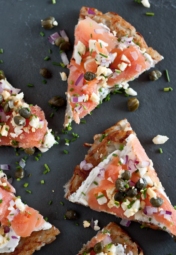 Smoked Salmon Potato Tartine - Mother's Day Recipe Ideas. Sweets and dessert recipes to spoil your mama!