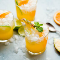 Pineapple Punch with Ginger Beer