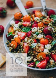 10 Quick Summer Recipes - easy quick recipes for the best season of the year!