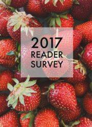 2017 Reader Survey - A Beautiful Plate