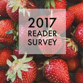 2017 Reader Survey - A Beautiful Plate