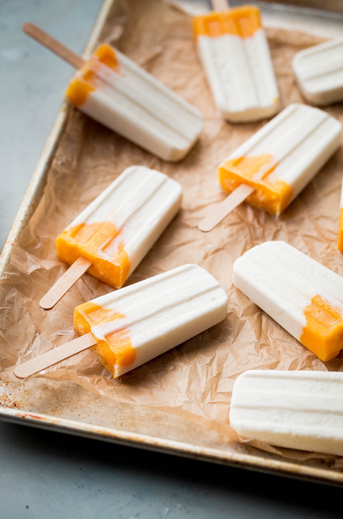 How to Make Mango Lassi Popsicles