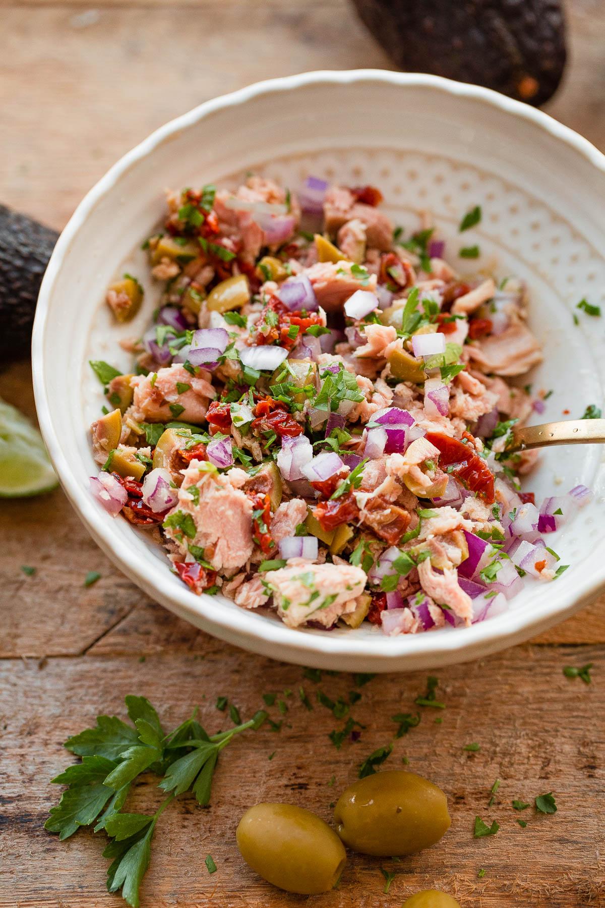 Italian Tuna Salad - dairy free, gluten free, and paleo!