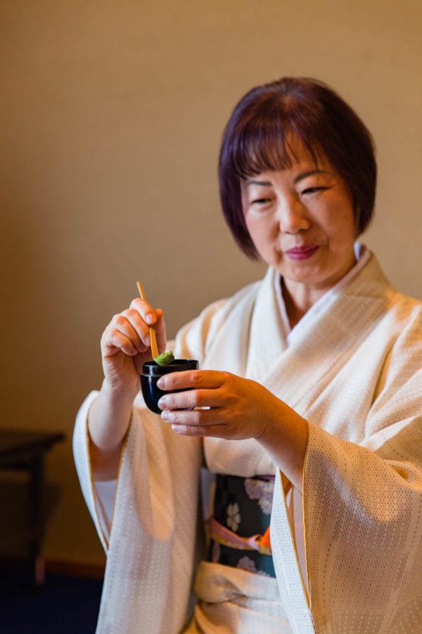 Camellia Tea Ceremony Kyoto