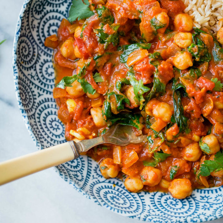Everyday Chickpea Curry
