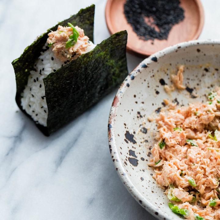 Spicy Tuna Onigiri