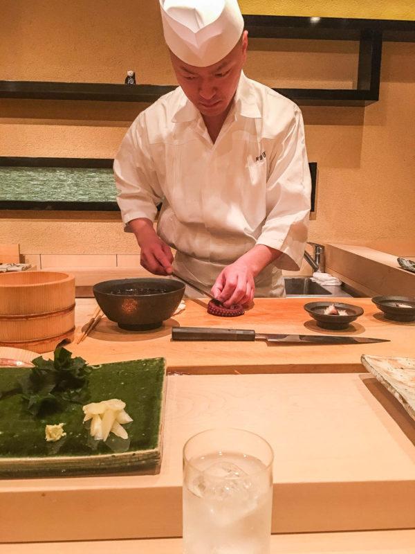 Sushi Miyazono Tokyo