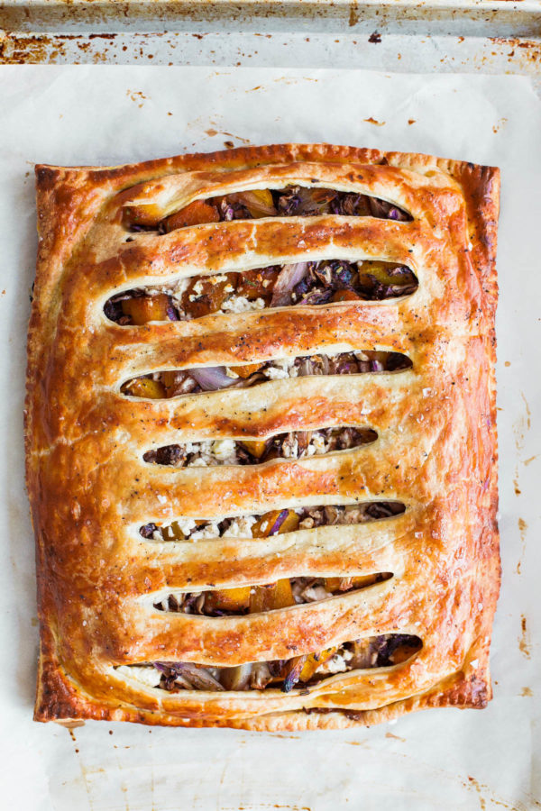 Savory Butternut Squash Pie