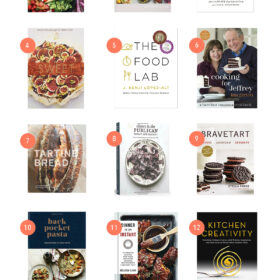 2017 Cookbook Gift Guide - my favorite cookbooks from this year! www.abeautifulplate.com