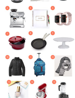 2017 Favorite Things Gift Guide - all of my favorite things from the past year!