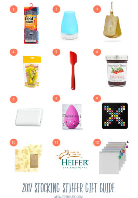 2017 Stocking Stuffers Gift Guide - fun, easy gifts under $25