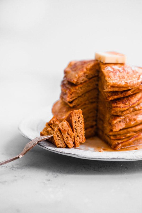 Pumpkin Souffle Pancakes