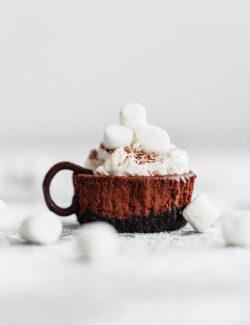 Mini Hot Chocolate Cheesecakes