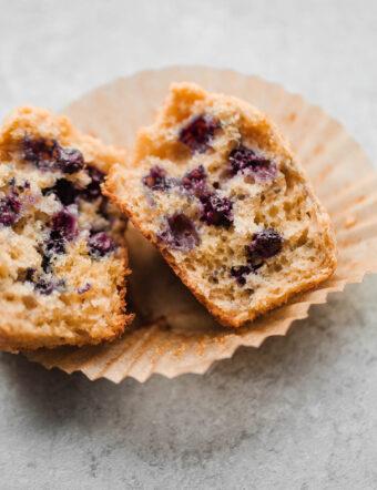 Split Blueberry Muffin