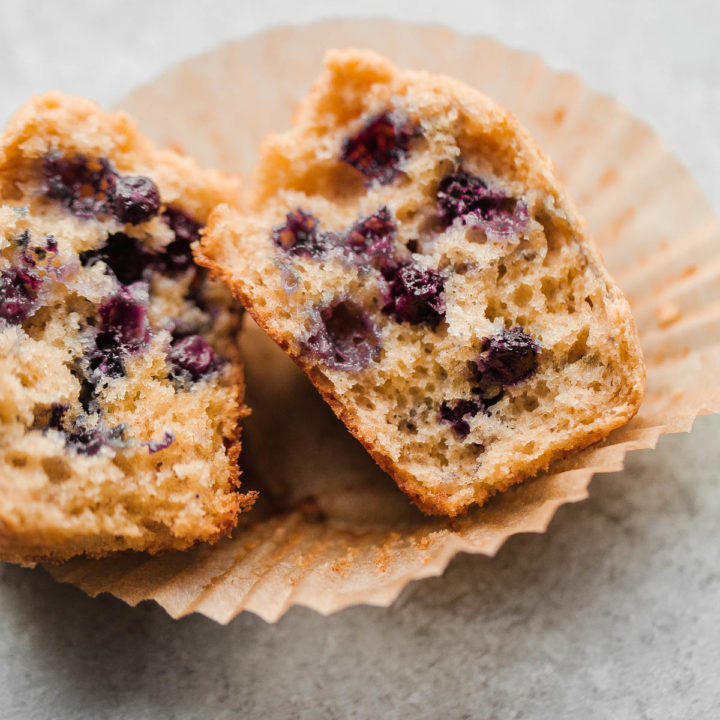Split Blueberry Muffin