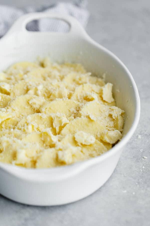 Gnocchi Alla Romana in Casserole Dish