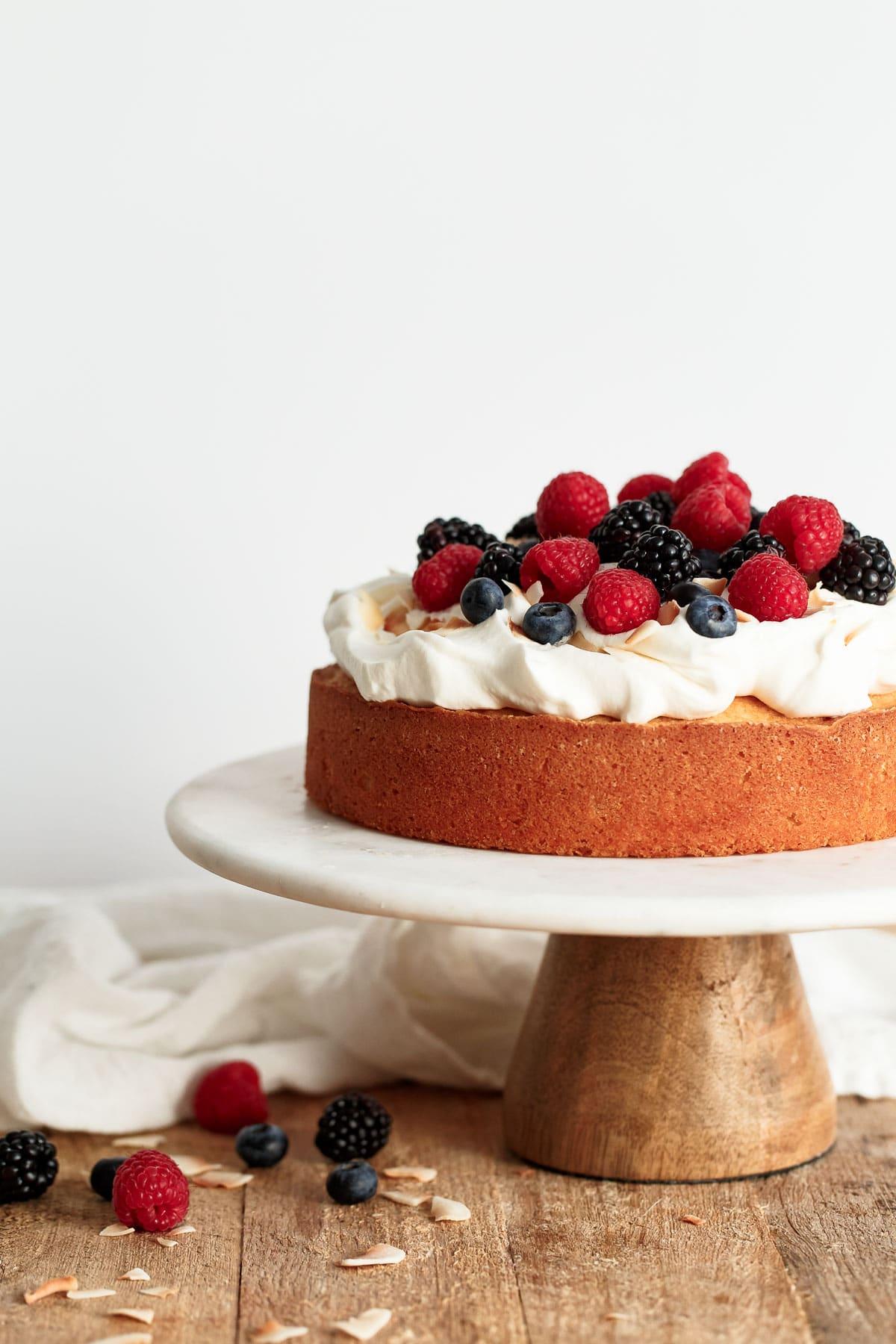 Healthy Light Lemon Cake Recipes