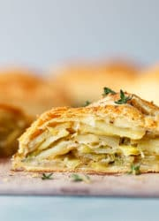 Potato Leek Cornish Pasty