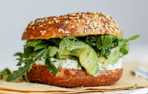 Everything Bagel Sandwich