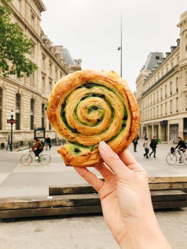 Pistachio Escargot Et Pain Et Des Idees Paris