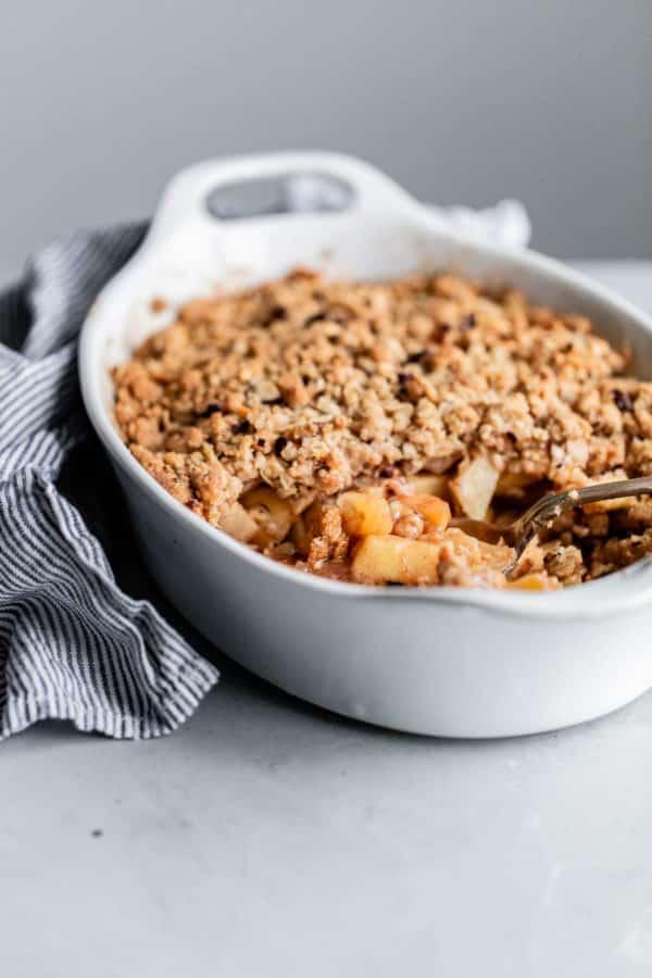 Apple Hazelnut Crisp Recipe
