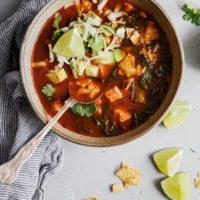 Classic Mexican Tortilla Soup