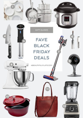 2018 Black Friday Deals Gift Guide - my favorite days of the day!