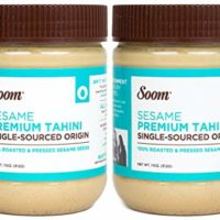 Soom Foods Pure Ground Sesame Tahini