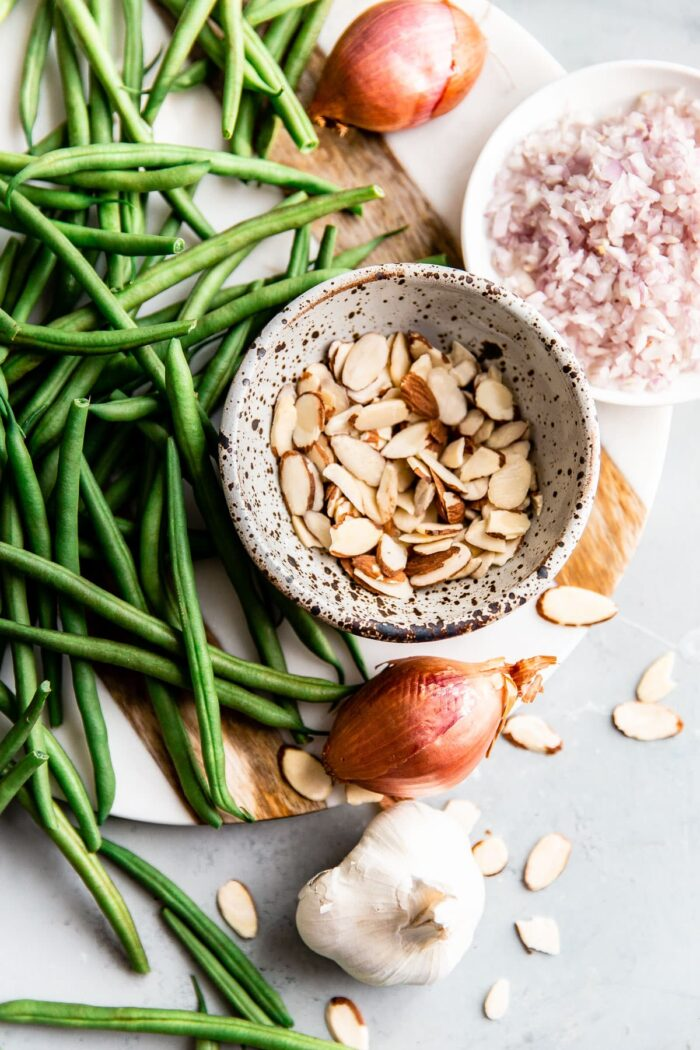 Green Beans Almondine Ingredients