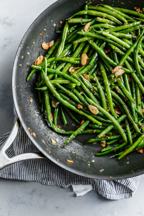 How to make Green Beans Almondine
