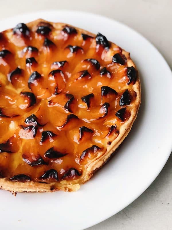 French Apricot Tart