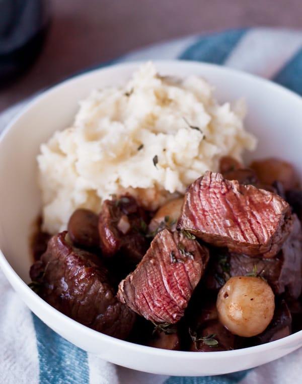 30 Minute Beef Bourguignon