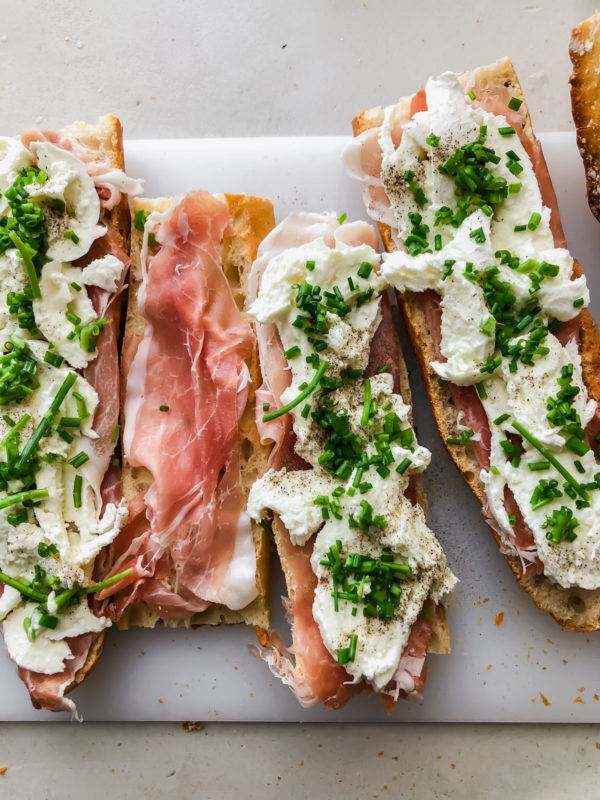 Charcuterie Sandwiches