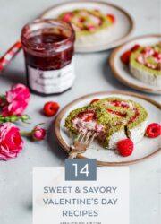 Matcha Raspberry Roll Cake