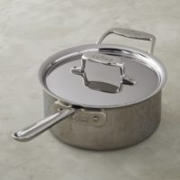 All-Clad d5 3-Quart Stainless-Steel Saucepan