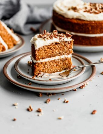 Carrot Cake with Pineapple and Coconut