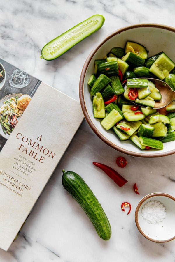A Common Table Cookbook Chinese Cucumber Salad