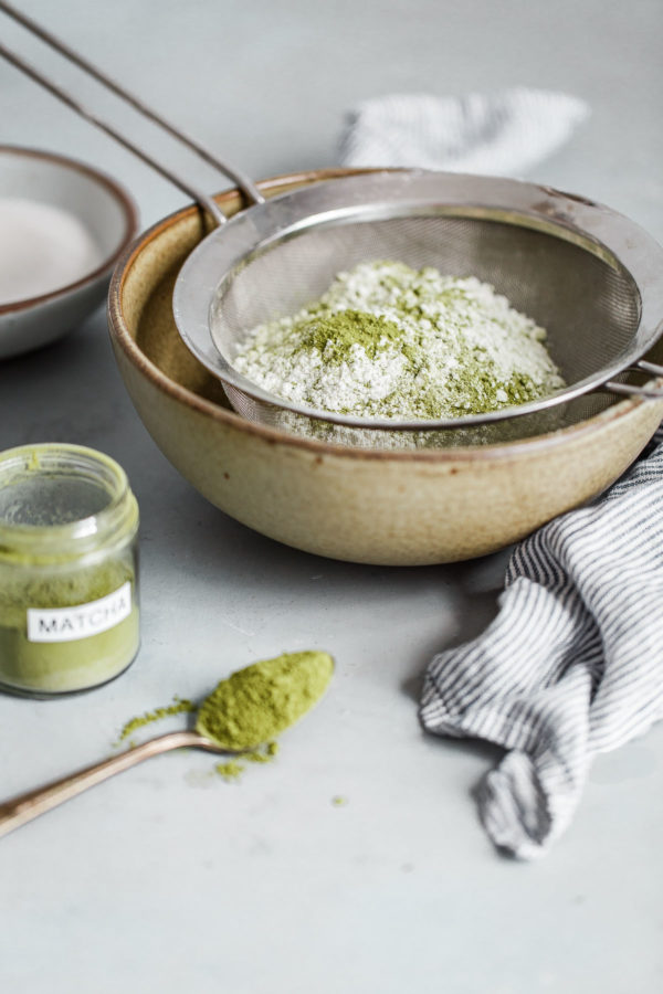 Matcha Cake Ingredients