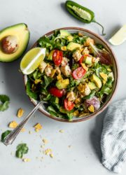 Guacamole Greens Salad