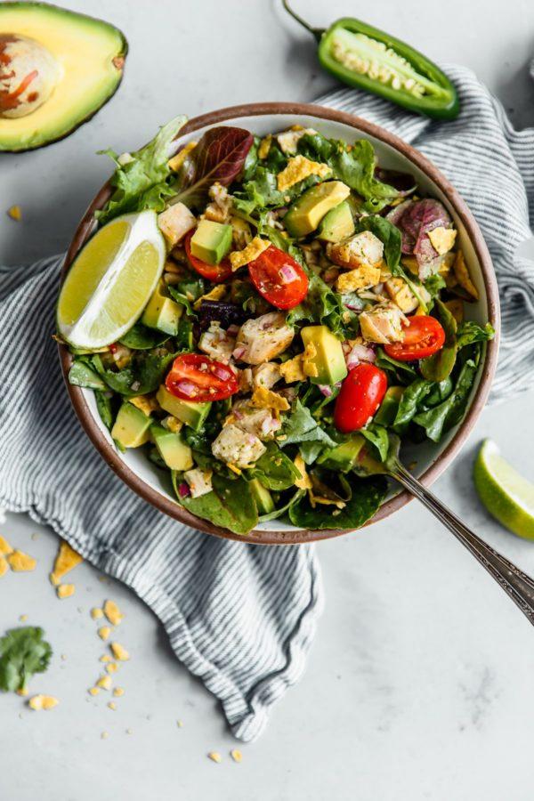 Guacamole Greens Salad