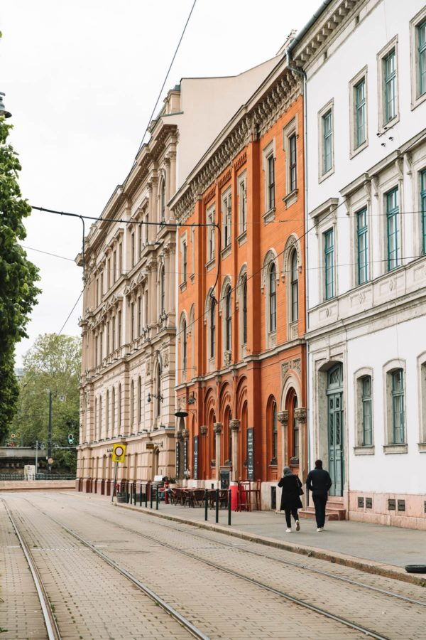 Budapest City Streets